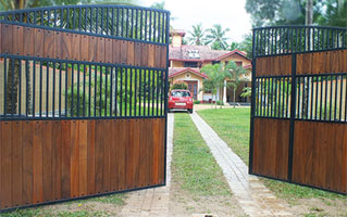 Swing Gates Designer Roller Door Swing Gates Sliding